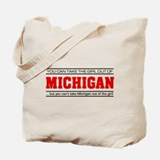 'Girl From Michigan' Tote Bag