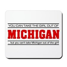 'Girl From Michigan' Mousepad