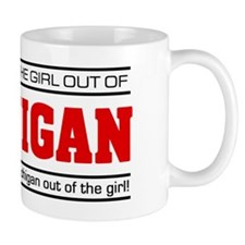 'Girl From Michigan' Mug