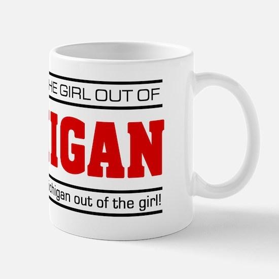 'Girl From Michigan' Mug