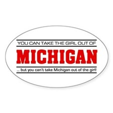 'Girl From Michigan' Decal