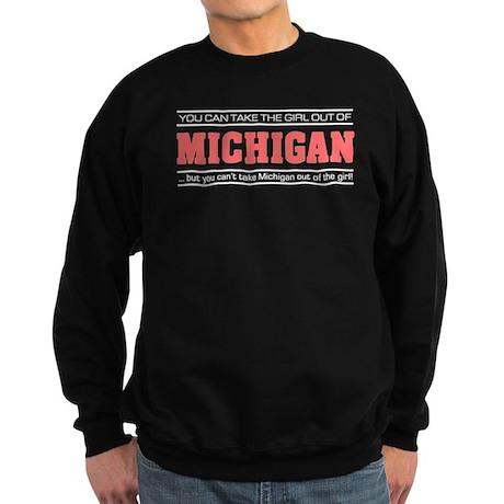 'Girl From Michigan' Sweatshirt (dark)