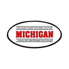 'Girl From Michigan' Patches
