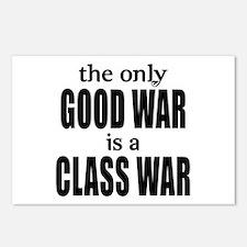 The Only Good War is a Class War Postcards (Packag