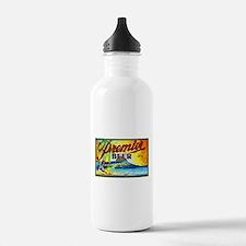 Hawaii Beer Label 3 Water Bottle