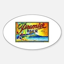 Hawaii Beer Label 3 Decal