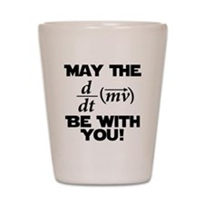 May The Force Be With You Physics Geek Nerd Shot G