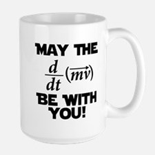 May The Force Be With You Physics Geek Nerd Large