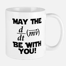 May The Force Be With You Physics Geek Nerd Small Small Mug