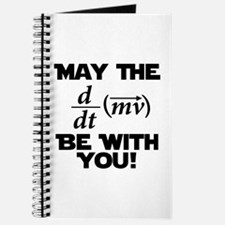 May The Force Be With You Physics Geek Nerd Journa