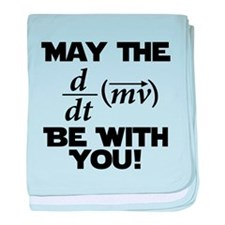 May The Force Be With You Physics Geek Nerd baby b