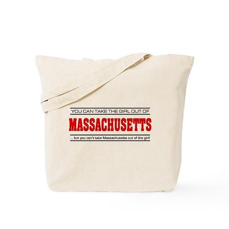 'Girl From Massachusetts' Tote Bag