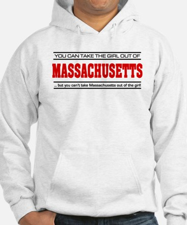 'Girl From Massachusetts' Hoodie