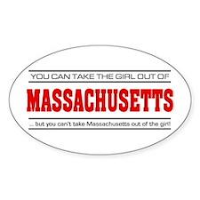 'Girl From Massachusetts' Decal