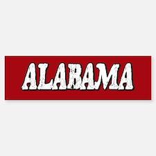 Alabama Vintage Bumper Bumper Bumper Sticker