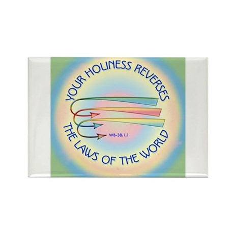 ACIM-Your Holiness Rectangle Magnet