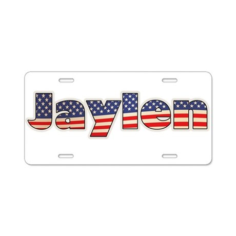 American Jaylen Aluminum License Plate