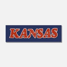 Kansas Vintage Car Magnet 10 x 3