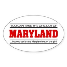 'Girl From Maryland' Decal
