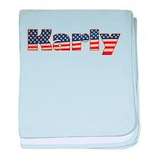American Karly baby blanket
