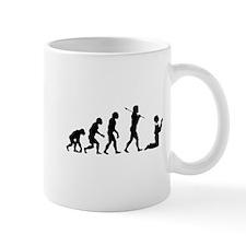 Evolved To Pray Mug