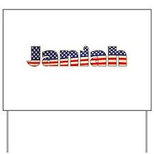 American Janiah Yard Sign
