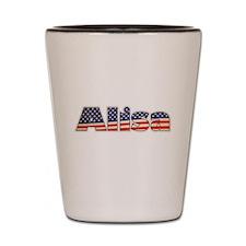 American Alisa Shot Glass