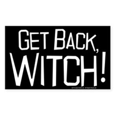 Get Back Witch Decal