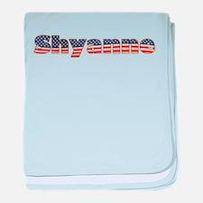 American Shyanne baby blanket