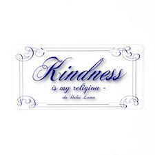 Funny Buddhist Aluminum License Plate