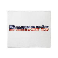 American Damaris Throw Blanket