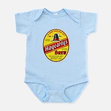 Connecticut Beer Label 3 Infant Bodysuit