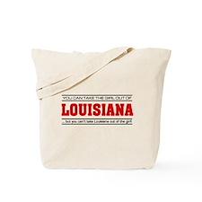 'Girl From Louisiana' Tote Bag