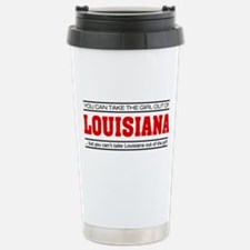 'Girl From Louisiana' Travel Mug