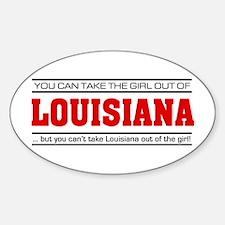 'Girl From Louisiana' Decal