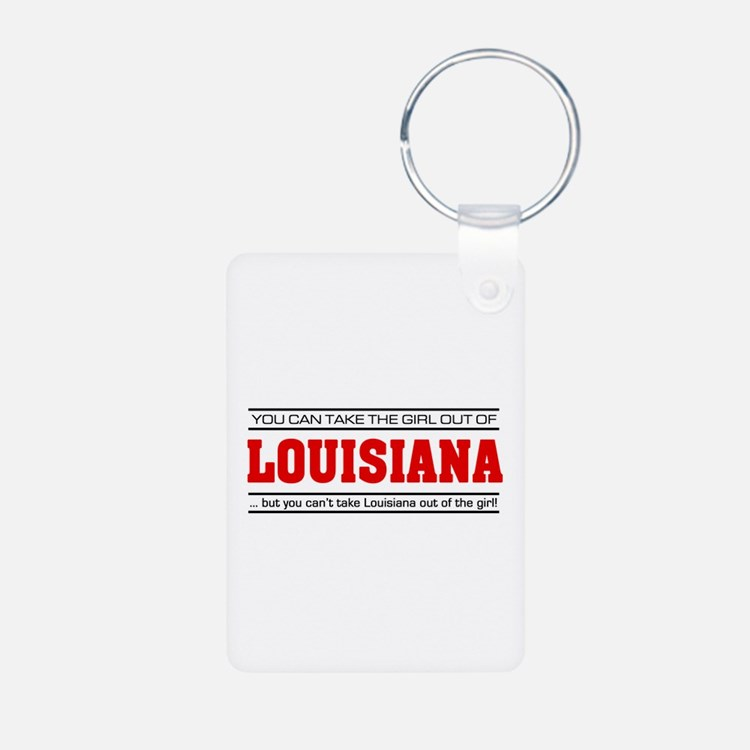 'Girl From Louisiana' Keychains