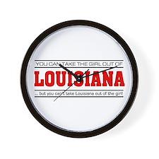 'Girl From Louisiana' Wall Clock