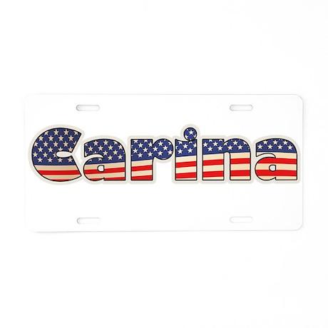 American Carina Aluminum License Plate