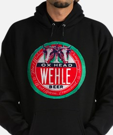 Connecticut Beer Label 1 Hoodie (dark)