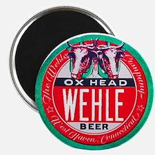 Connecticut Beer Label 1 Magnet