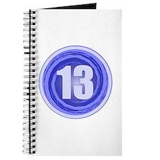 13th Birthday Boy Journal
