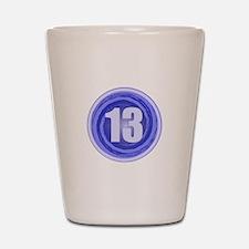 13th Birthday Boy Shot Glass