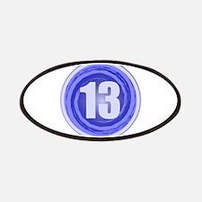13th Birthday Boy Patches