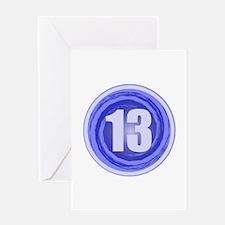 13th Birthday Boy Greeting Card