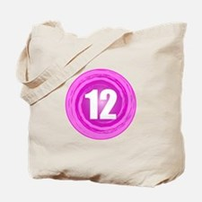 12th Birthday Girl Tote Bag