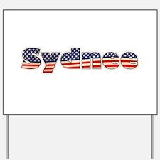 American Sydnee Yard Sign