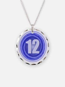 12th Birthday Boy Necklace