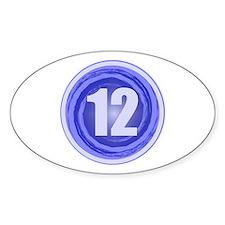 12th Birthday Boy Decal