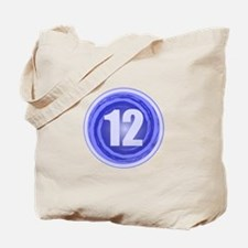 12th Birthday Boy Tote Bag