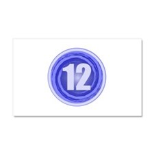 12th Birthday Boy Car Magnet 20 x 12